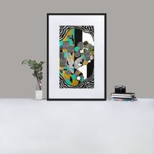 Load image into Gallery viewer, Resuscitation Matte Paper Framed Poster With Mat