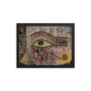 The Eye of Horus Framed poster