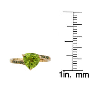 10KY PEAR DIAMOND RING
