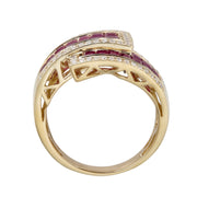 10KY RUBY RING
