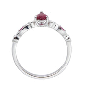 10KW RUBY RING
