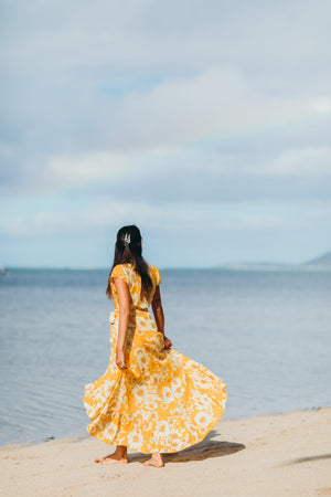 Gold Coast Wrap Dress