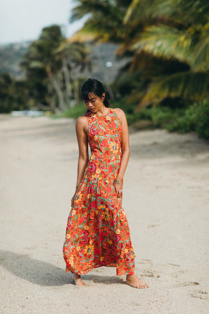 Monte Carlo Tiered Maxi Dress