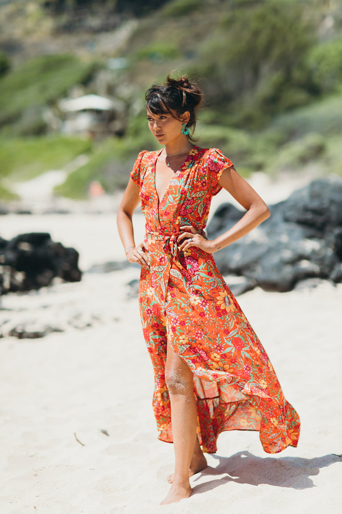 Monte Carlo Wrap Dress