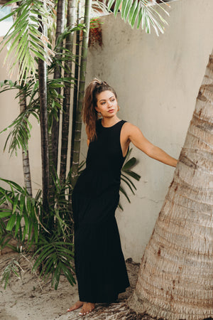 Pompeii Tiered Maxi Dress