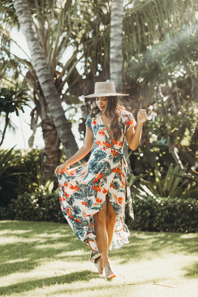 Cozumel Wrap Dress