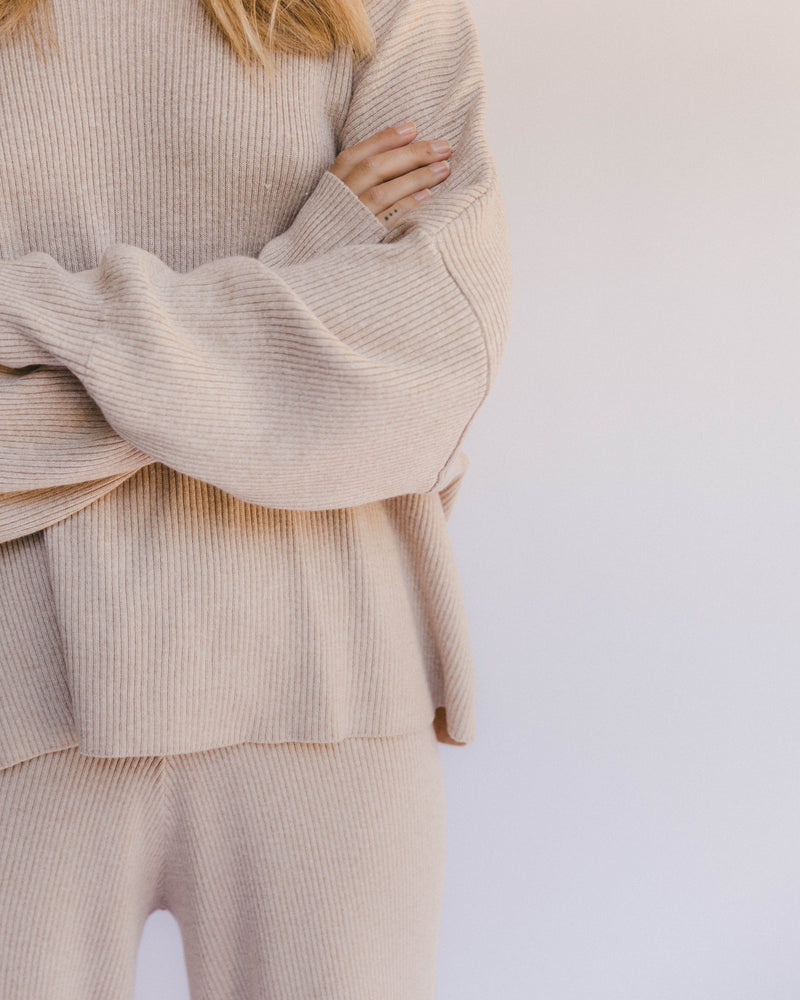 Alex Knit Sweater Sand