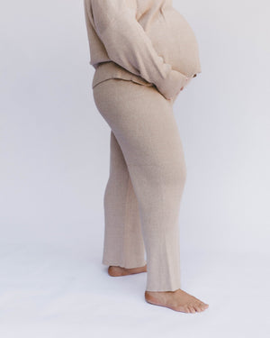 Alex Knit Pants Sand