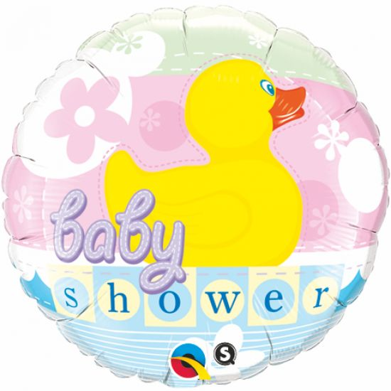 Ducky Baby Shower Foil Balloon