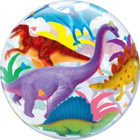 Dinosaurs Plastic Bubble Balloon