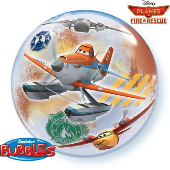 Disney Planes Fire & Rescue Plastic Bubble Balloon