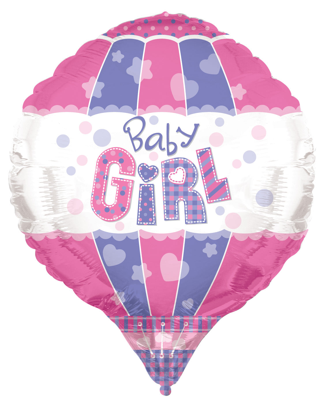 Baby Girl 3D Foil Balloon Shape