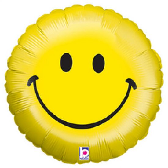 Betallic Yellow Smiley Face