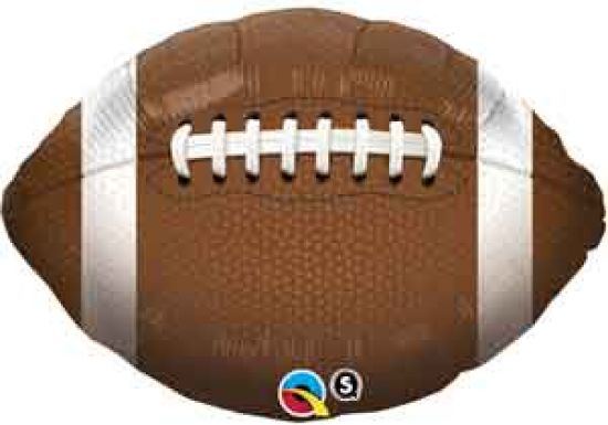 American Football Foil Balloon