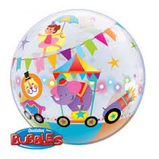 Circus Parade Plastic Bubble Balloon