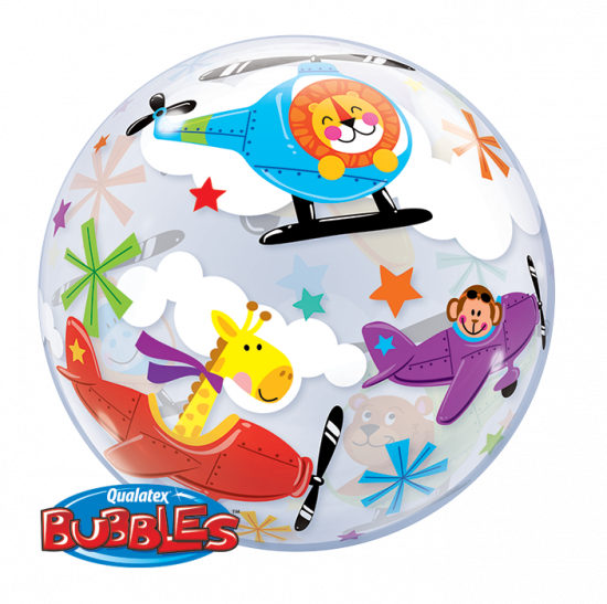 Flying Circus Plastic Bubble Balloon