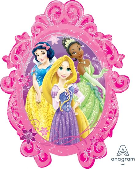Disney Princesses Foil Balloon Shape