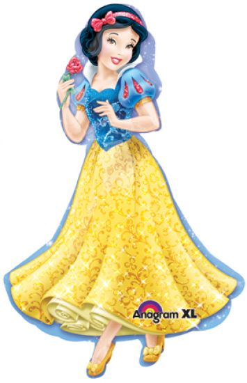Disney Princess Snow White Foil Balloon Shape