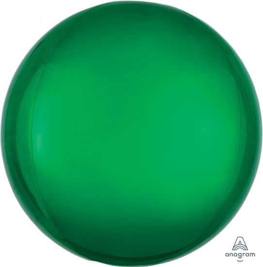 Green Orbz Foil Balloon