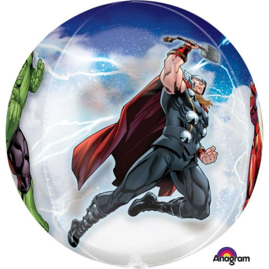 The Avengers Animated Orbz Foil Balloon