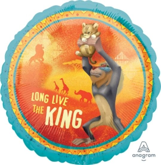Long Live The Lion King Foil Balloon