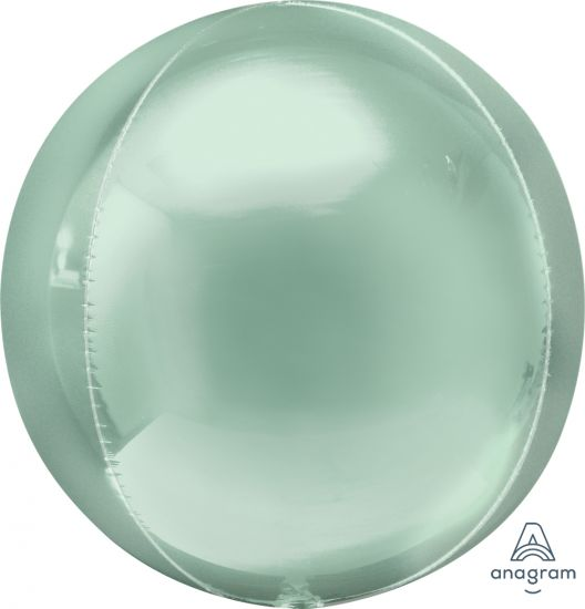 Pastel Mint Green Orbz Foil Balloon