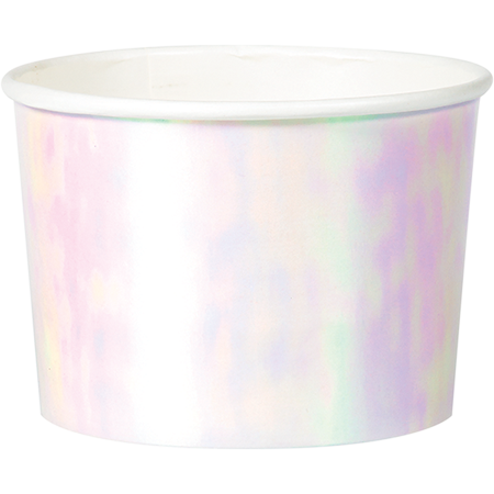 Iridescent Foil Treat Cups