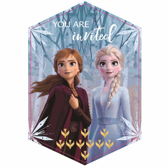 Frozen 2 Postcard Invitations