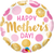 Mother's Day Pink & Gold Dots Foil Balloon