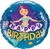 Happy Birthday Mermaid Foil Balloon