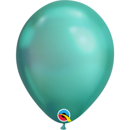 Qualatex Chrome Green Latex Balloon