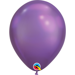 Qualatex Chrome Purple Latex Balloon