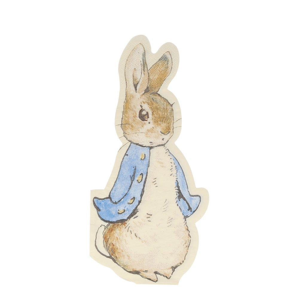 Peter Rabbit Die-Cut Serviettes