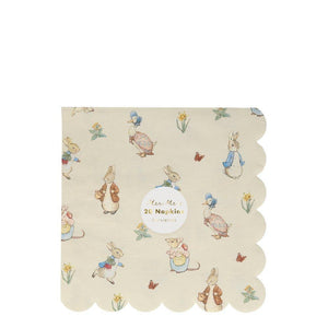 Peter Rabbit And Friends Luncheon Serviettes