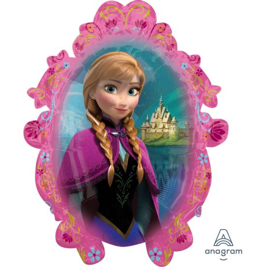 Disney Frozen Anna & Elsa Foil Balloon Shape