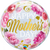 Mother's Day Pink Peonies Plastic Bubble Balloon