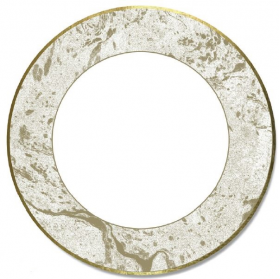 gold marble effect large plates