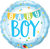 Baby Boy Banner & Dots Foil Balloon