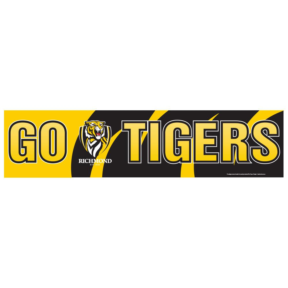 Richmond Tigers GO Banner
