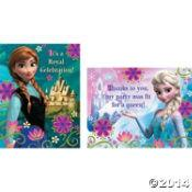 Disney Frozen Invitations And Thankyou Cards B Agencies
