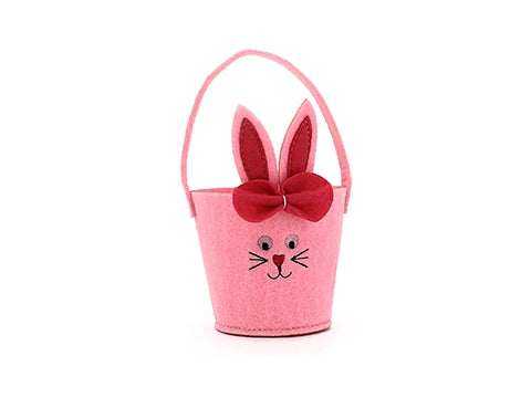 Felt Bunny Easter Egg Basket