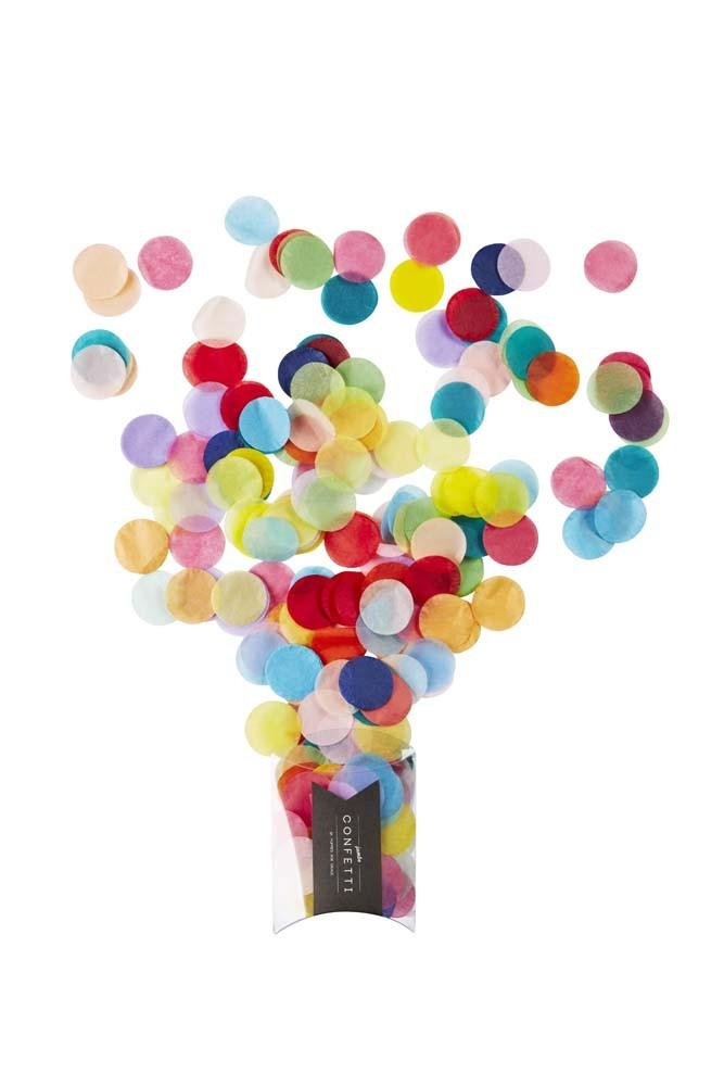 Happy Rainbow Jumbo Paper Confetti Poppies for Grace