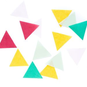Hooray Triangle Tissue Confetti Scatter