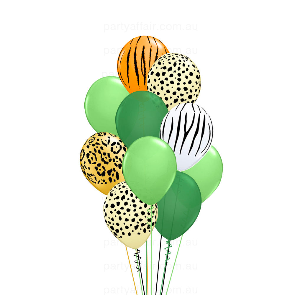 Jungle Jive Latex Balloon Bouquet