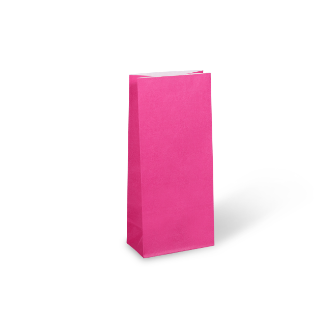 Cerise Pink Medium Paper Party Bag