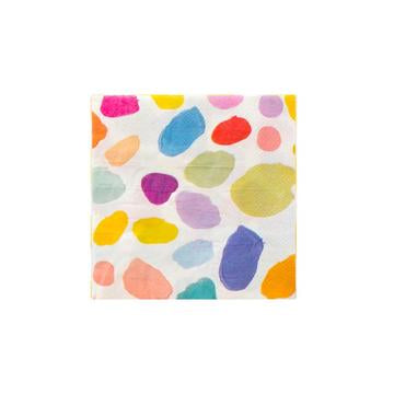 Bright 'Kindah' Print Cocktail Napkins