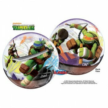 Teenage Mutant Ninja Turtles Plastic Bubble Balloon