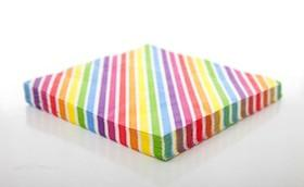 Rainbow Stripe Napkins Sundays