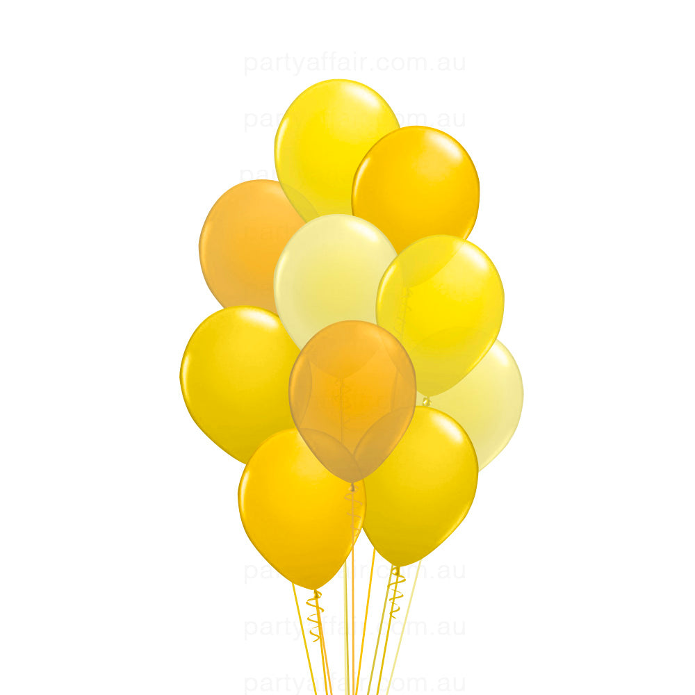 Ray of Sunshine Latex 10 Balloon Bouquet