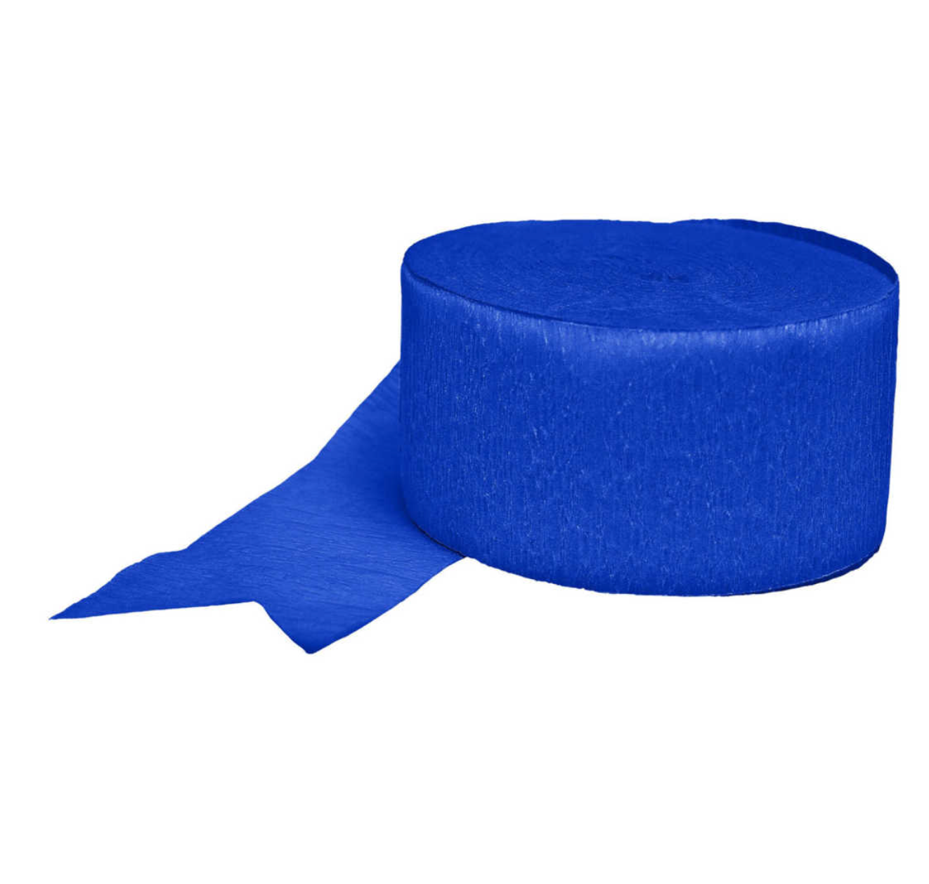 Blue Crepe Paper Streamer